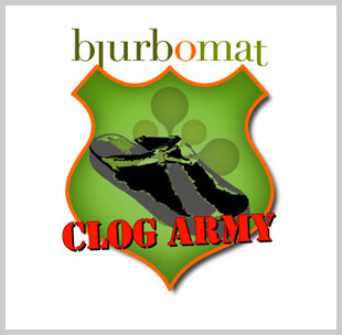 the blurbomat clog army