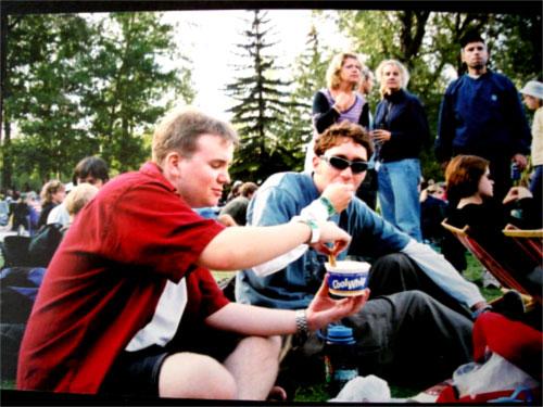 Folk Fest & Whip Cream Circa 2002