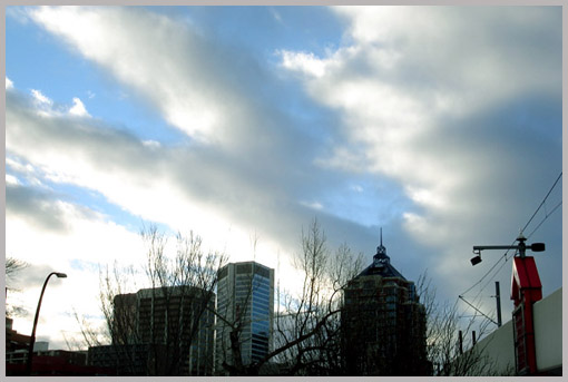 Calgary's Winter Skyline