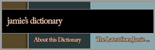 Jamie's Dictionary