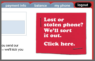 Virgin Mobile's Amazing site