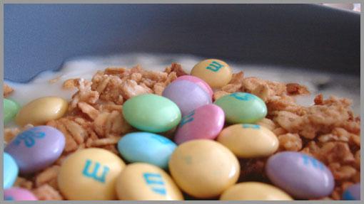 Pastel M&M's
