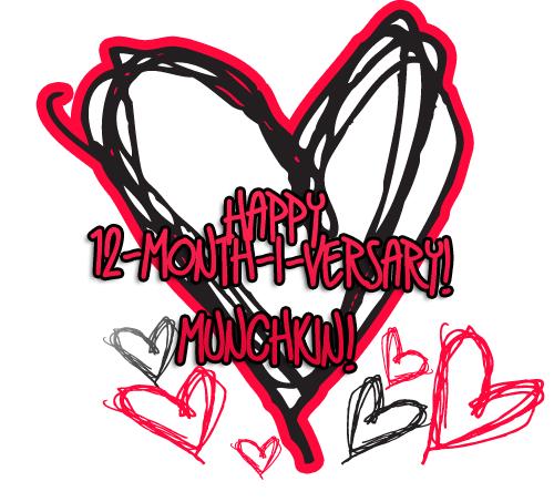 12 month-i-versary!