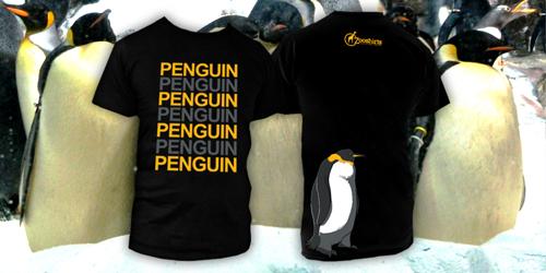 Zoo Shirts - Penguin T-Shirt