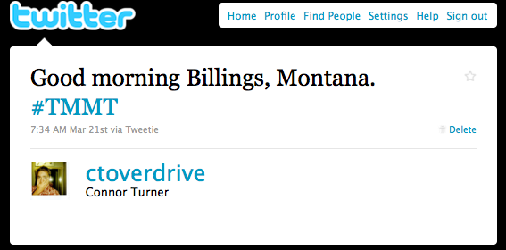 Good Morning, Billings Montana
