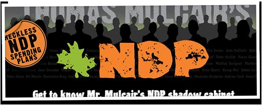 Thomas Muclair's Scary NDP