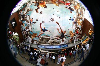 Cologne Germany - Soccer Fresco